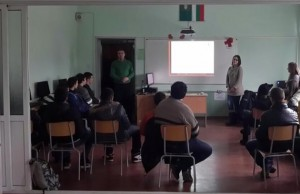 TSD 's presentation in Vasil Levski High School, Troyan