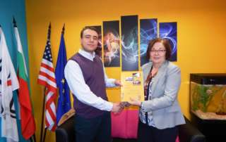 Special Visit at TSD by the Mayor of Municipality Troyan