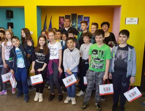 TSD Hosted Students from Pleven, Taking Them into the Real IT World